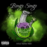 Bongo Songo Album Cover Albumcover template