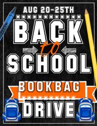 Book bag drive
