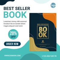 Book Banner Ad Template Iphosti le-Instagram