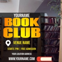 BOOK CLUB AD TEMPLATE Logo