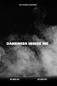 "Book Cover ""Darkness Inside Me"""