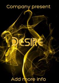 """Book Cover """"Desire"""""""