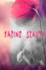 """Book Cover """"Fading Beauty"""""""