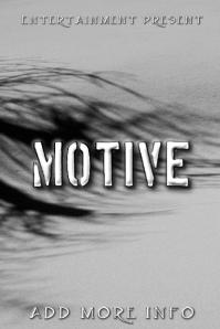 "Book Cover ""Motive"""
