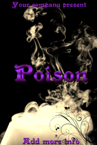 "Book Cover ""Poison"""