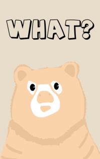 Book Cover Design Bear Story