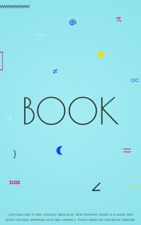 Book Cover design template Обложка Kindle