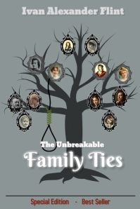 book cover/family tree/vintage/ancestry