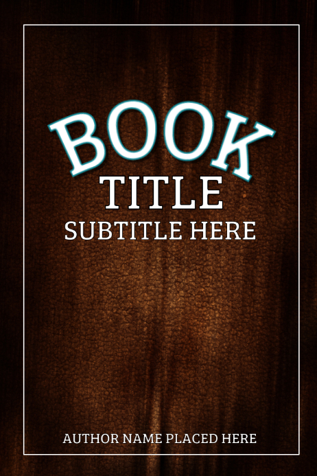 Book Cover Template | PosterMyWall