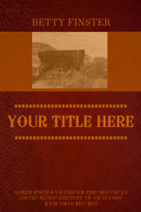 book cover design templates postermywall