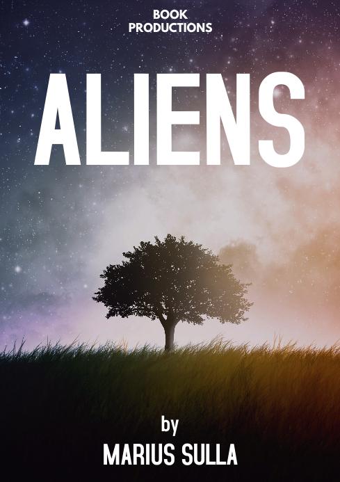 Book cover scifi space
