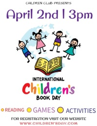 Book Day Template Flyer (format US Letter)