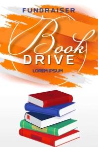 book drive charity SOCIAL MEDIA TEMPLATE