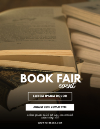Book Fair Flyer Template