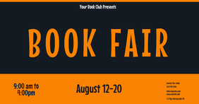 book fair flyer template Facebook Event Cover