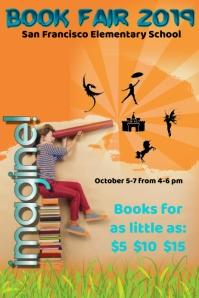 book fair/school/school poster/escuela