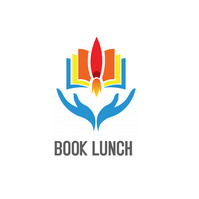 Book lunch logo template