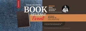 Book Release Facebook Cover Photo template