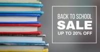 Book Sale Facebook Shared Image template