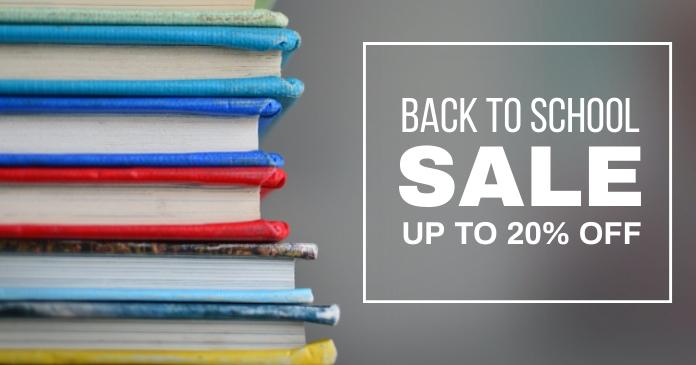 Book Sale Gambar Bersama Facebook template