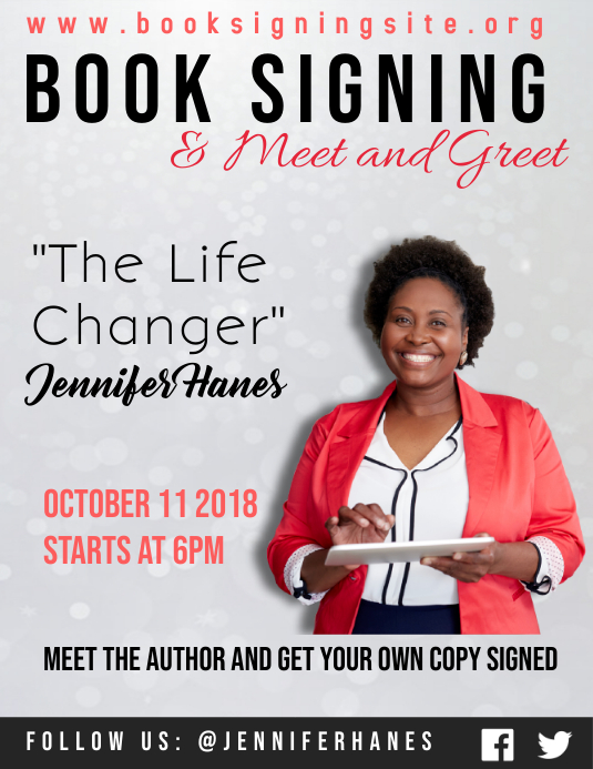 Design book signing, book launching any event flyer ...