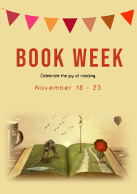 Book week flyer