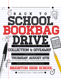 Bookbag drive