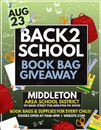 Bookbag giveaway