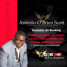 Booking flyer