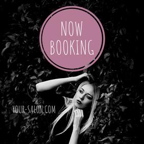 Booking Salon Instagram Post Banner