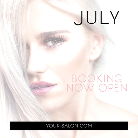 Booking Salon Instagram Post Banner