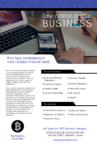 Bookkeeping Associates Flyer