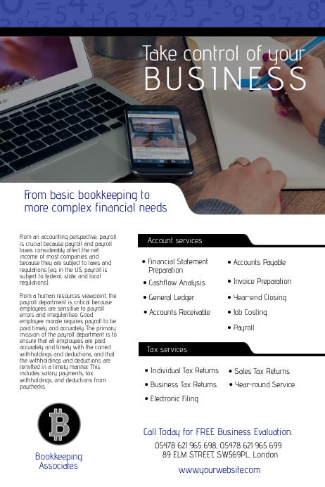 Bookkeeping Associates Flyer