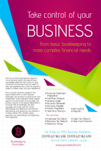 Bookkeeping Company Flyer