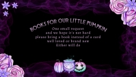 Books for Baby Halloween Theme Business Card template