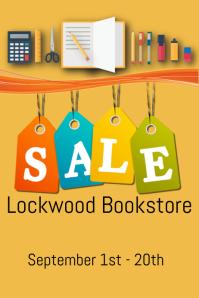 Bookstore sale