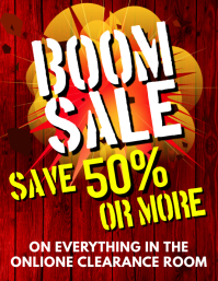Boom Sale Flyer