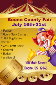 Boone County Fair Template