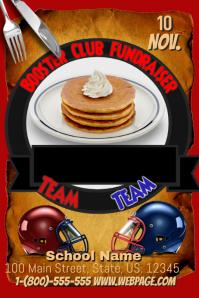 Pancake Breakfast Fundraiser Flyer