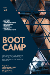 Boot Camp Event Flyer Template Poster