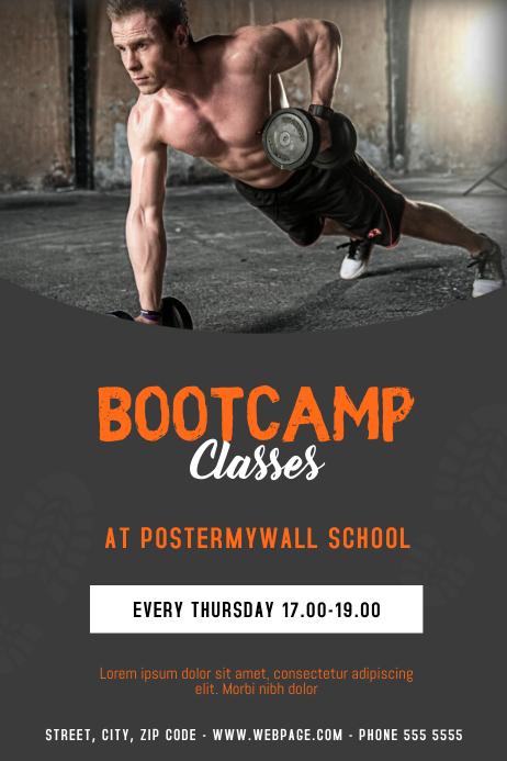 Bootcamp Class Flyer Template