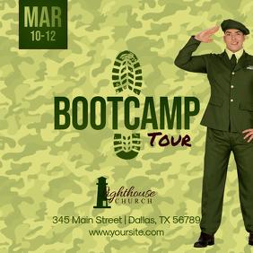 Bootcamp Tour Pos Instagram template