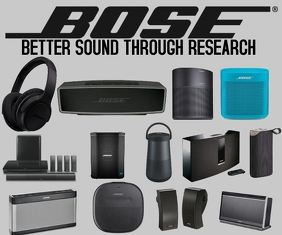 BOSE- BETTER SOUND THROUGH RESEARCH TEMPLATE Medium Rectangle