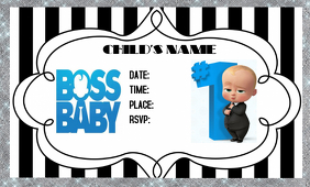 Boss Baby Birthday Party