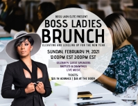Boss Lady Brunch Flyer (US Letter) template