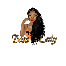 Boss Lady Logo template