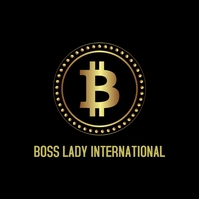 Boss Lady Logo template