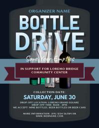 Bottle Drive Flyer