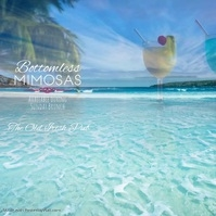 Bottomless Mimosas Sunday Brunch Instagram