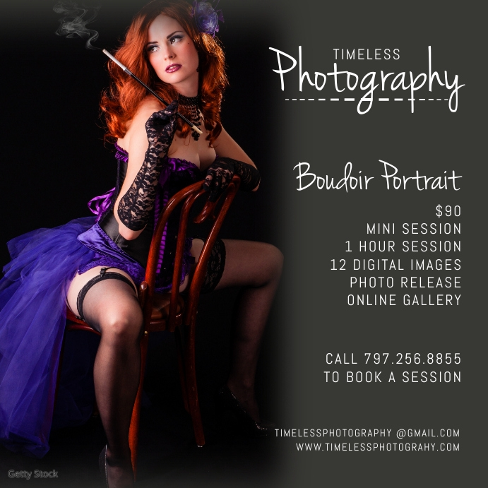 Boudoir Photography Instagram Post Square (1:1) template